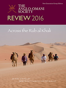 The Anglo-Omani Society Review 2016