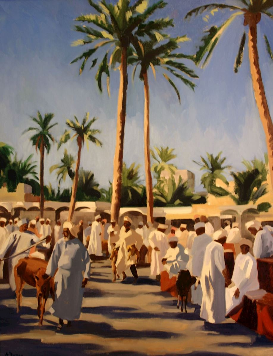 Interview: Winner of The Anglo-Omani Society Art Competition